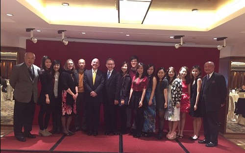Alumni mingle with Concord parents in Hong Kong