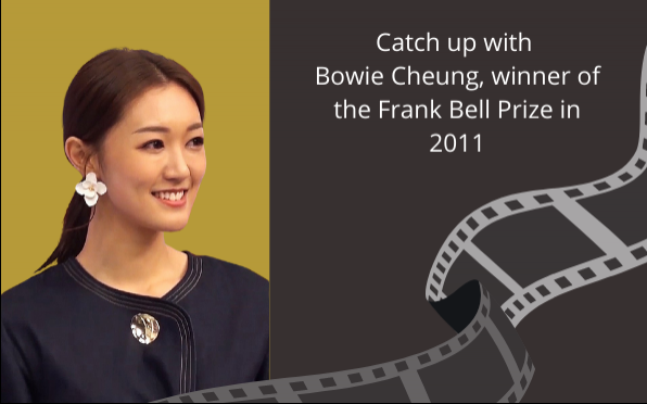 Actor and Alumna, Bowie Cheung