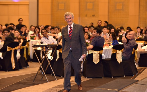 Former Concord Principal, Mr Tony Morris at the Kuala Lumpur Reunion 2014.