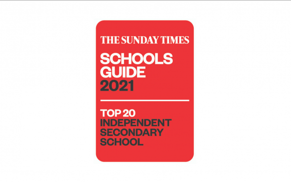 The Sunday Times Good Schools Guide Top 20 Independent Secondary School Award