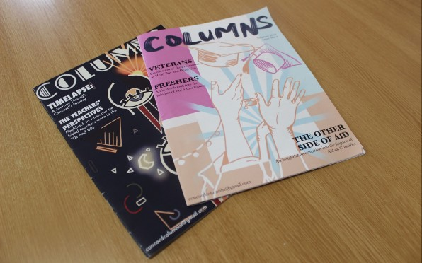 Columns magazine was re-launched in 2018 and again in 2021, but when did it first launch?