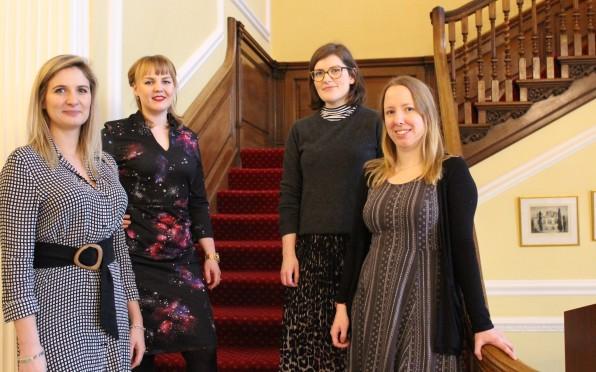 London University Representatives.