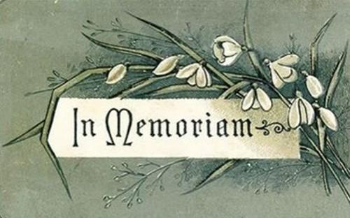 In memory of MrsPaul