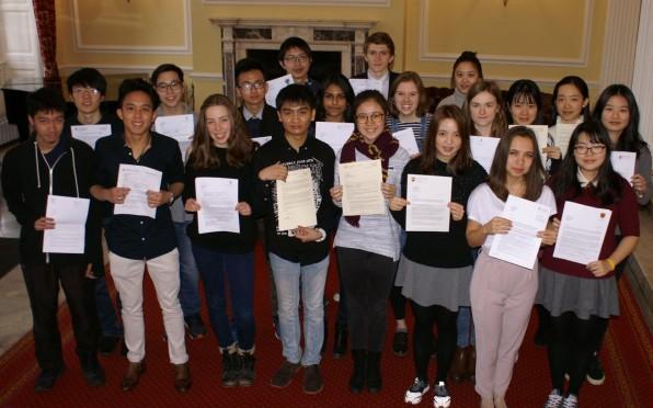 Oxbridge Offer Students in 2017