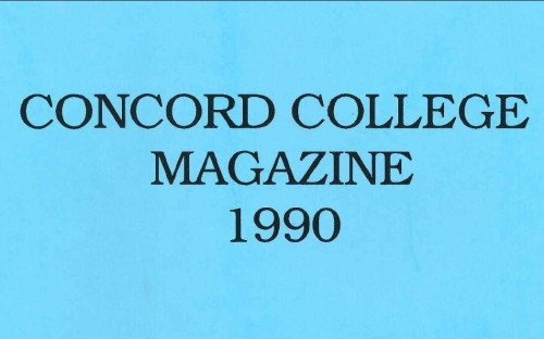 story image for Bringing you...1990 Concord Magazine