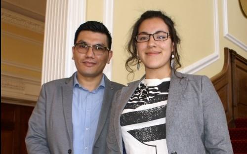 Rohullah Yakobis with Andrea Solis (6.1)