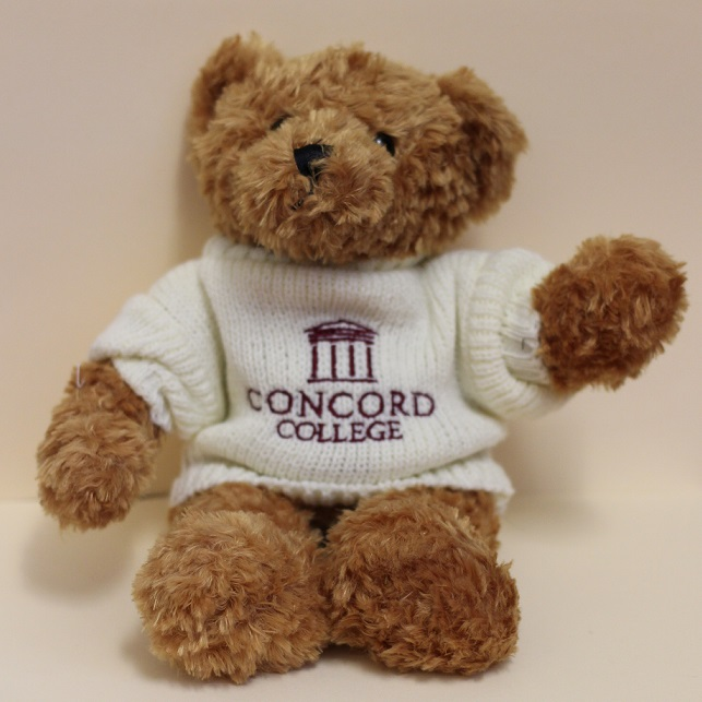 Free Concord College Teddy with £200+ Donations
