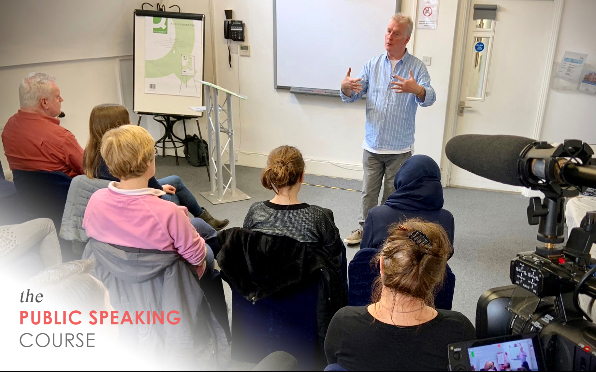 The One-Day course in public speaking in central London