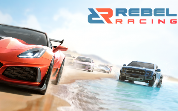 Rebel Racing: the game Will is currently working on