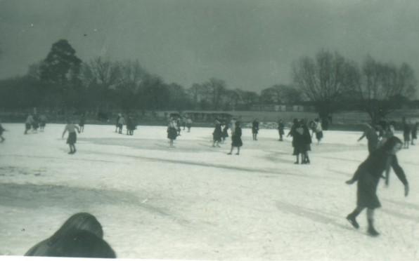 Skating in 1956