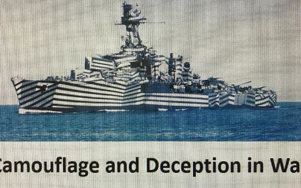 'Camouflage and Deception in War' - a recent talk by James Porter