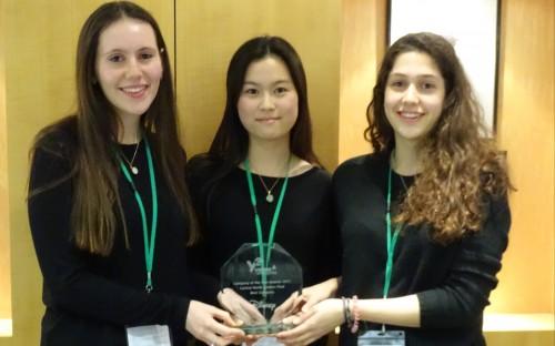 Winners of the Best Company award