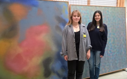 Sixth Formers in the Hamburger Bahnhof Museum