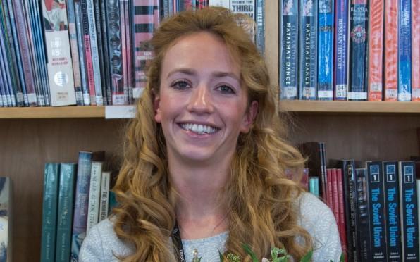 Class of 2012 alumna Rafaela Elliston
