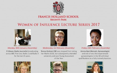 Women of Influence Lecture Series 2017