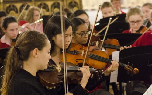The Regent's Park orchestra perform in a recent concert