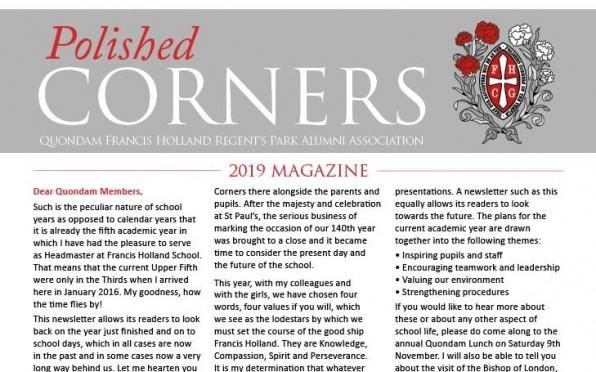 Polished Corners Magazine 2019