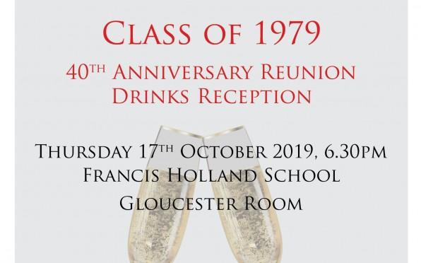 Class of 1979 40th Anniversary Reunion