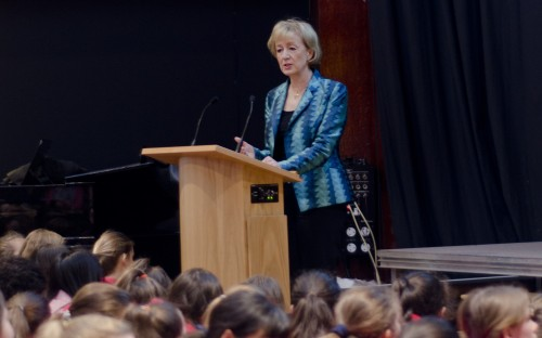 Andrea Leadsom MP in conversation