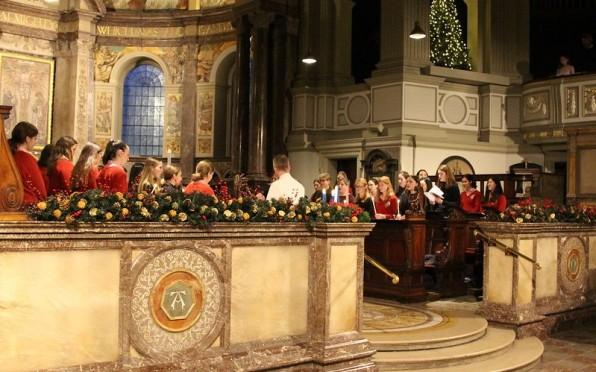 Carol Service in St Marylebone Parish Church
