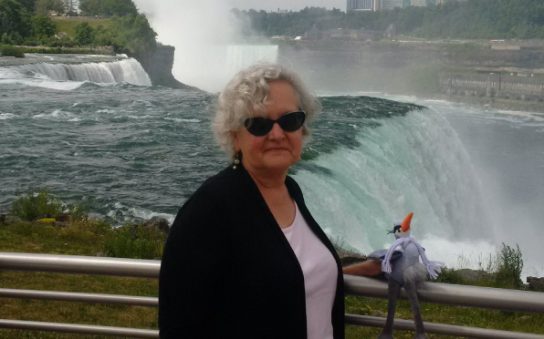 Cathy takes Hector to visit Niagara Falls!