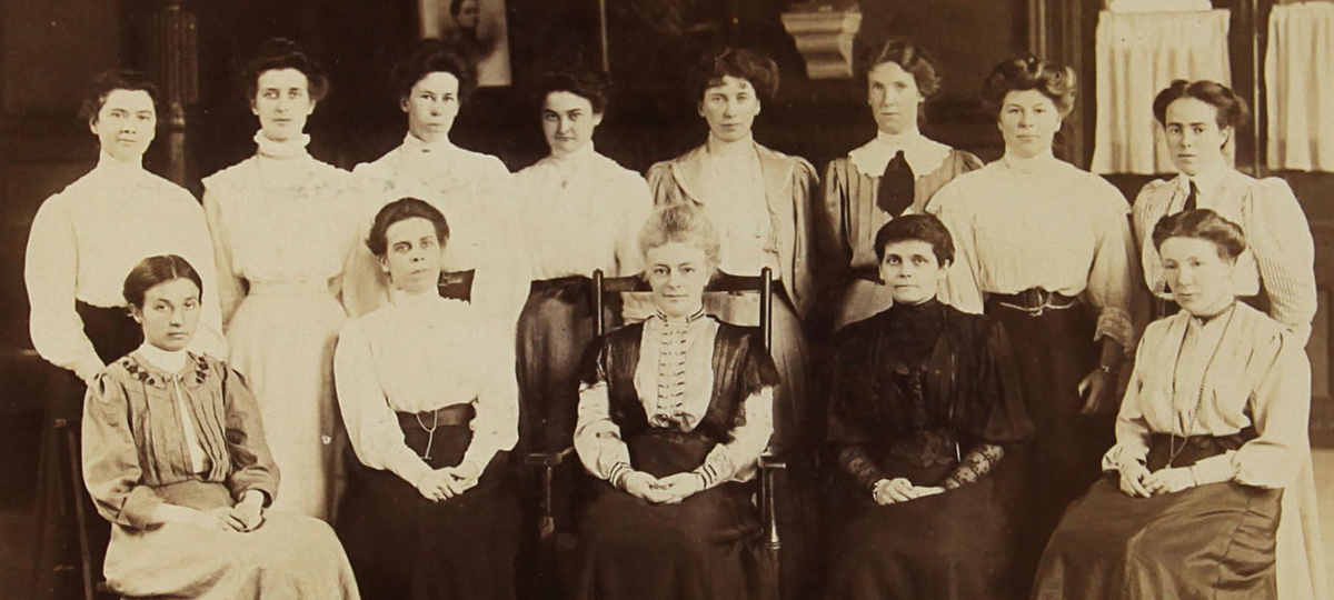 Teaching staff from the early 1900s