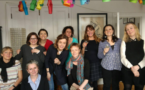 Class of 1988 Reunion, as featured in the 2017 Old Girls' Newsletter