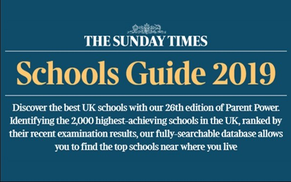 The Sunday Times Schools Guide 2019