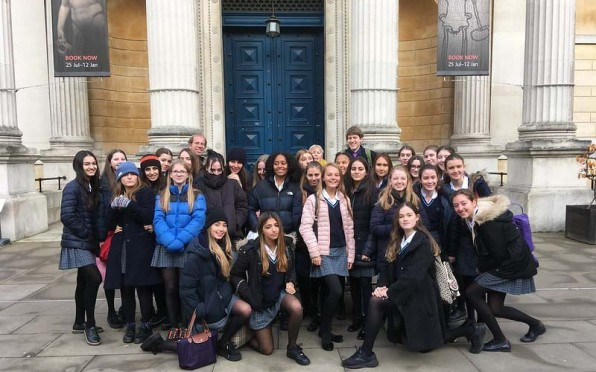Yr 10/11 pupils visit the 'Last Supper in Pompei' exhibition at the Ashmolean Museum