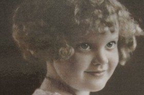Prudence Scrivener as a young girl