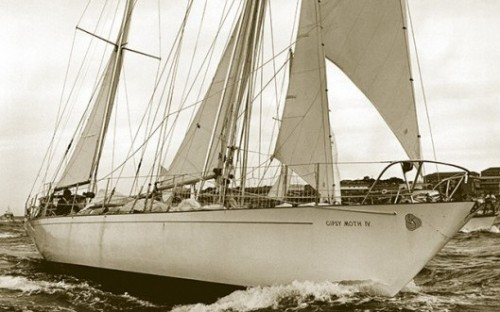 Sir Francis Chicester's Gypsy Moth