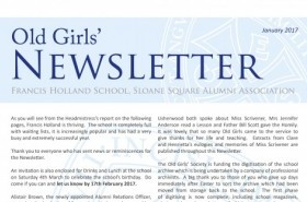 Page 1 of the 2017 Newsletter