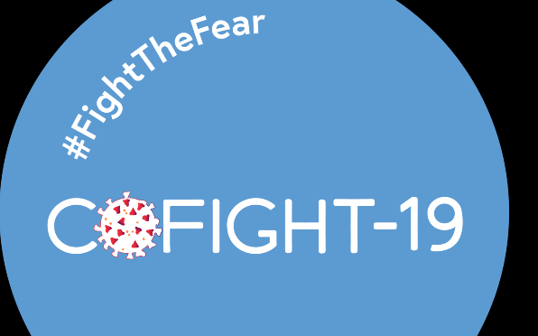 The first day of Cofight -19's campaign to fight the fear begins today