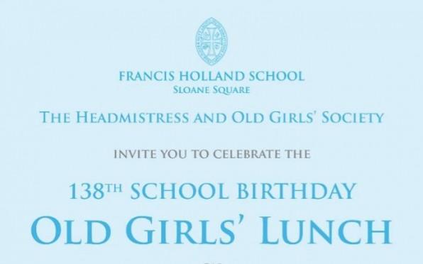 Old Girls' Birthday Lunch 2019