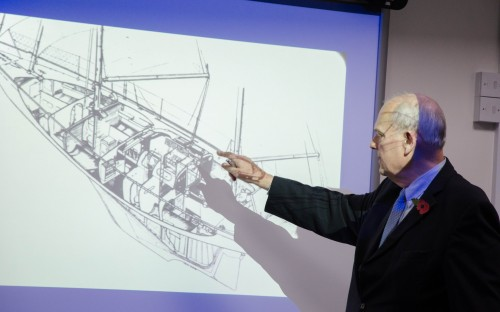 Giles Chichester explains how the Gypsy Moth yacht was kitted out