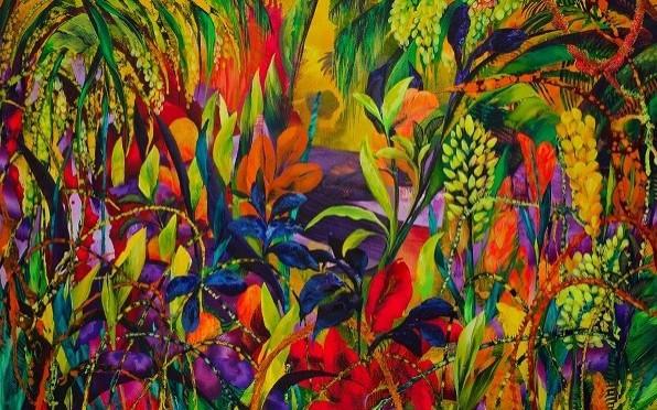 Citric Dawn (2020) 120 x 180cm