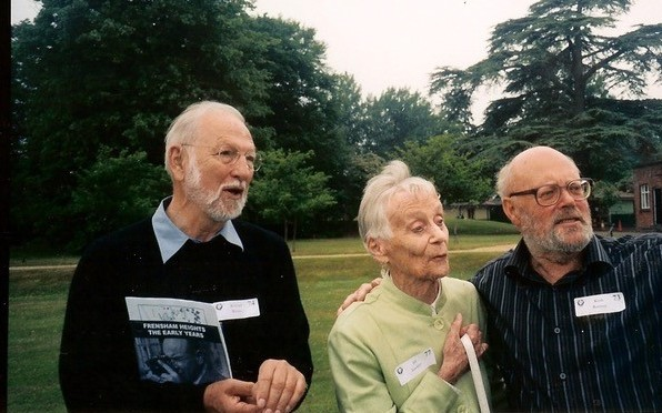 Keith with Richard Weeks & Jill Lockley in 2008