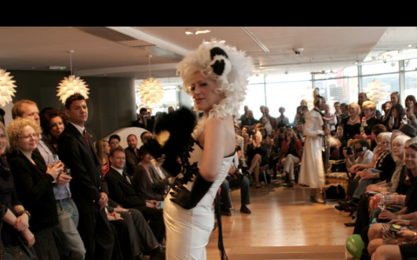 This was a fashion show I did about 10 years ago in aid of Macmillan.