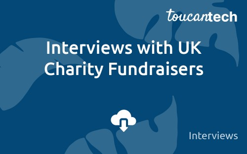 Read these inspiring and informative interviews with three experienced charity fundraisers