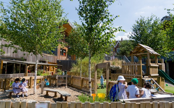 The Early Years Outdoor Learning area