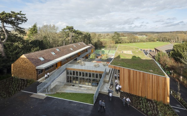 The new buildings at Hilden Grange