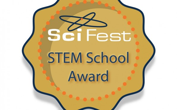 A Sci Fest STEM Gold Award for HCK !