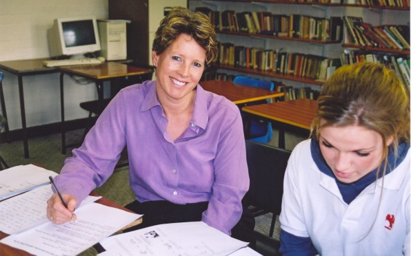 Sarah Hyman when she joined the Hurst teaching staff in 2005