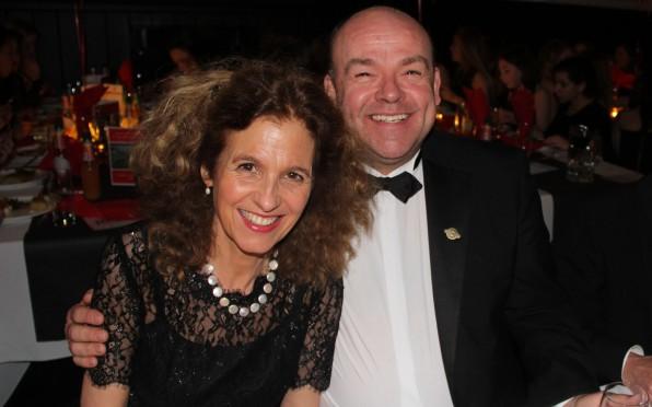 Debs Treyer-Evans at 2015's 20 years of girls celebration dinner