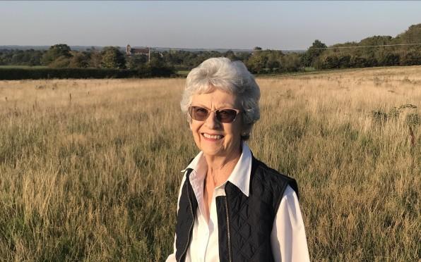 Joan Peters in 2020.