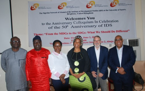 Report from Nigeria's Alumni IDS50 Anniversary Colloquium