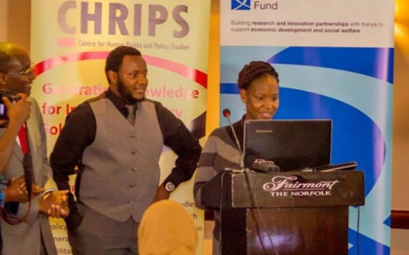 Lilian Wanjohi of the British Council and Newton-Utafiti Fund, during the launch, Credit: CHRIPS