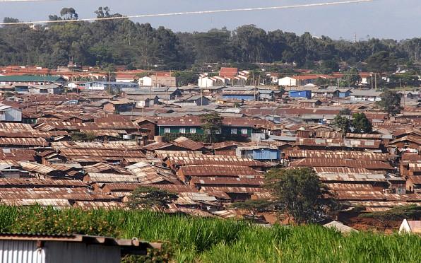 Kibera Slum by Valter Campanato