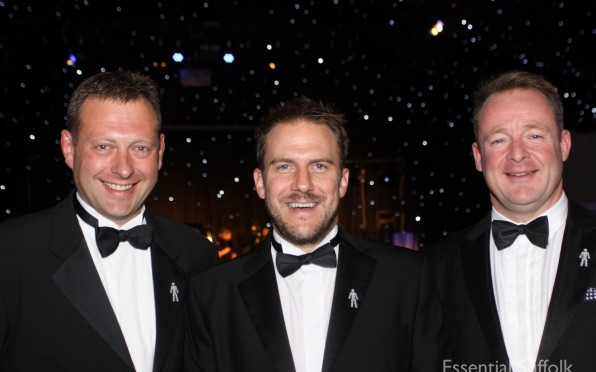 Prostrate Cancer Ball - Julian Pennington, Olly Magnus and David Rowledge