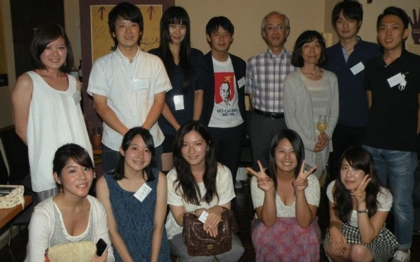 Happy faces at the 2013 Tokyo reunion.